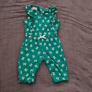 Carter's Newborn Butterfly Jumpsuit